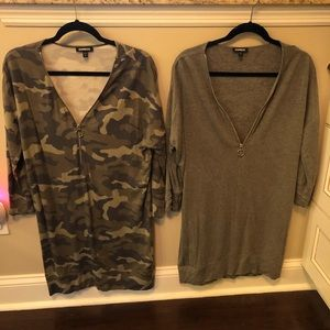 Express tunic tops, size small, bundle of 2 tops